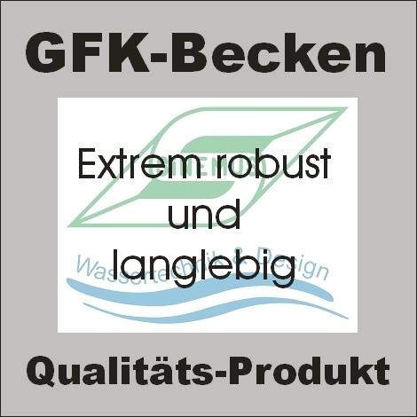 gfk becken rechteckig 240x120x60cm sinemus gmbh wassertechnik. Black Bedroom Furniture Sets. Home Design Ideas
